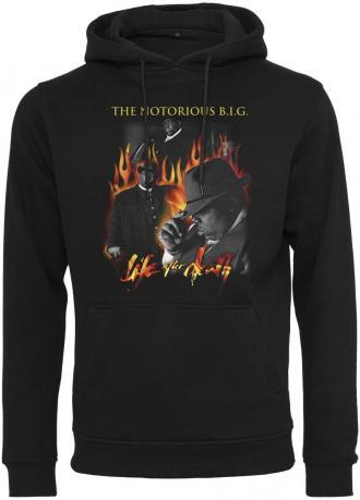 96f061d426 Ανδρικό φούτερ Biggie Flames Merchcode MC308 Black