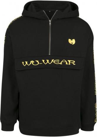 085bc5d13fea Ανδρικό hoodie Wu-Wear Pull Over Wu-Wear WU043 Black
