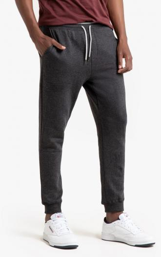 Product details - Joggers - Regular waistFabric content and care advice - 75% cotton, 25% polyester - Washable at 40°C - Do not dry clean. Do not bleach - Tumble dry at low temperature - Iron at medium temperature - Inside leg 27%27%27. Hem width 26cm