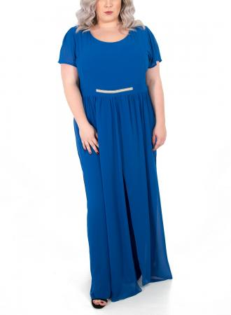f22eb4b9a95a Σύνθεση 100% Polyester Χρώμα Μπλε ρουά Μανίκια Κοντά Ελληνικής Κατασκευής