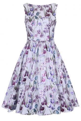 2e13fb0bb359 vintage luxe φόρεμα metallic floral Anthia