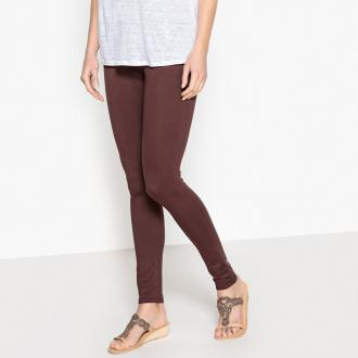 Leggings. A must-have! Elasticated waist for added comfort.Fabric content and details :Fabric: Jersey 95% viscose, 5% elastane.Inside leg 30, hem width 22cm.Brand: Anne WeyburnCare advice :Machine washable at 30°C on a delicate cycle.Iron at low temperature.