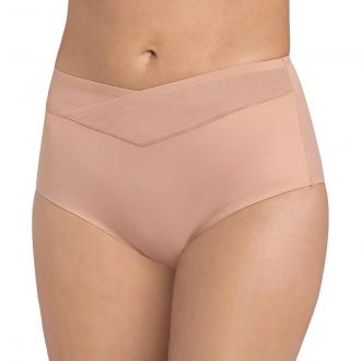 True Shape Sensation maxi briefs in delicate, shaping elastane microfibre. Tulle waistband and heat-bonded trim around the legs for optimum support. A flawless, invisible finish. Cotton-lined gusset. Fabric content and details: Fabric Elastane microfibre. 50% polyamide, 45% elastane, 5% polyesterBrand TRIUMPH Care advice:Machine washable at 30°C with similar colours.