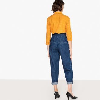 Ψηλόμεσο παντελόνι σε άνετη γραμμή - La Redoute CollectionsΓραμμή loose.  Ψηλόμεσο. 2 τσέπες στο 7dbfa4f6cbb