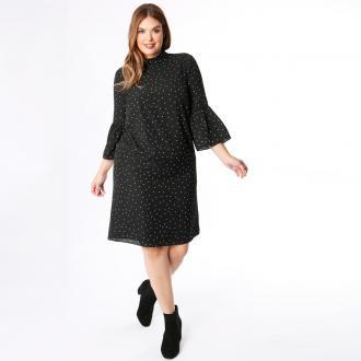 Εμπριμέ φλοράλ φόρεμα KOKO BY KOKO σε ίσια γραμμή 26ee7474221