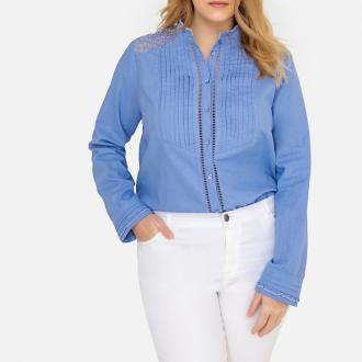 bd1e0737fc3d Πουκάμισο Με ΔαντέλαΑγαπάμε αυτό το πουκάμισο σε ρομαντική διάθεση το οποίο  είναι κομψό και στη μόδα